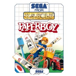 PAPERBOY LOOSE SUR MASTER SYSTEM PAL VERSION