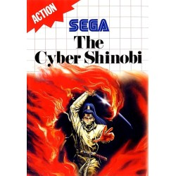 THE CYBER SHINOBI SUR MASTER SYSTEM OCCASION PAL VERSION