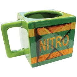 MUG CRASH BANDICOOT CAISSE NITRO 450 ML