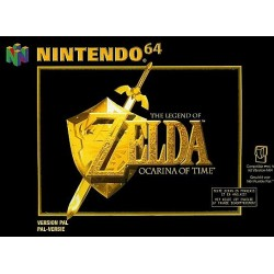 THE LEGEND OF ZELDA OCARINA OF TIME COMPLET EN BOITE NINTENDO 64 PAL