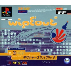 WIPEOUT SUR PLAYSTATION COMPLET PAL VERSION