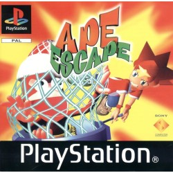 APE ESCAPE SUR PLAYSTATION COMPLET EN VERSION PAL