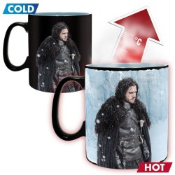 MUG THERMO-REACTIF GAME OF THRONES - WINTER IS HERE JON SNOW