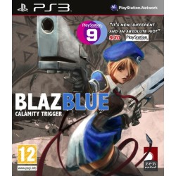 BLAZBLUE CALAMITY TRIGGER OCCASION SUR PS3
