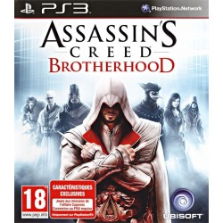 ASSASSIN'S CREED BROTHERHOOD OCCASION SUR PLAYSTATION 3