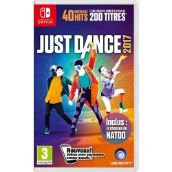 JUST DANCE 2017 OCCASION SUR NINTENDO SWITCH