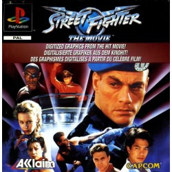 STREET FIGHTER THE MOVIE OCCASION SUR PLAYSTATION