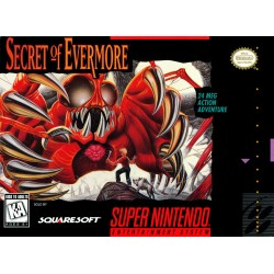SECRET OF EVERMORE OCCASION SUR SUPER NINTENDO