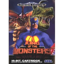 KING OF THE MONSTERS OCCASION SUR MEGA DRIVE