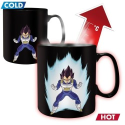 MUG THERMO-REACTIF DRAGON BALL Z VEGETA SHENRON