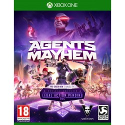AGENTS OF MAYHEM OCCASION SUR XBOX ONE