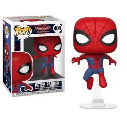 FUNKO POP! PETER PARKER - SPIDER-MAN : INTO THE SPIDER-VERSE N°404