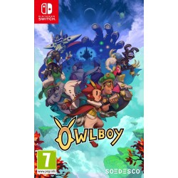 OWLBOY OCCASION SUR NINTENDO SWITCH