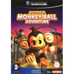 SUPER MONKEY BALL ADVENTURE OCCASION SUR GAMECUBE