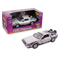 RÉPLIQUE DELOREAN TIME MACHINE 1:24 RETOUR VERS LE FUTUR 1