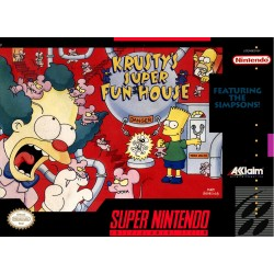 KRUSTY'S SUPER FUN HOUSE OCCASION SUR SUPER NINTENDO