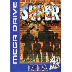 SUPER STREET FIGHTER II SUR MEGA DRIVE