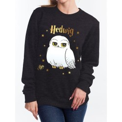 SWEAT FEMME HARRY POTTER FOIL HEDWIGE