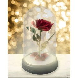 LAMPE DISNEY ENCHANTED ROSE LIGHT LA BELLE ET LA BÊTE