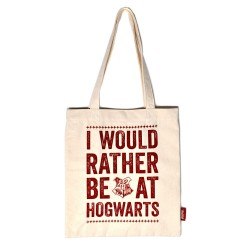 SHOPPING BAG HARRY POTTER HOGWARTS SLOGAN