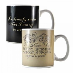 MUG THERMO-REACTIF CARTE DU MARAUDEUR - HARRY POTTER