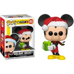 FUNKO POP! HOLIDAY MICKEY - 90 ANS DE MICKEY MOUSE N°455