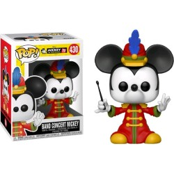 FUNKO POP! BAND CONCERT MICKEY - DISNEY - MICKEY 90TH N°430