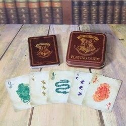JEU DE CARTES HARRY POTTER HOGWARTS VERSION 2