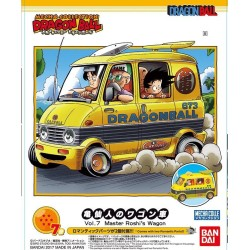 FIGURINE DRAGON BALL MODEL KIT MASTER ROSHI WAGON