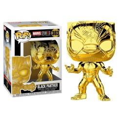 FUNKO POP! BLACK PANTHER GOLD CHROME N°383