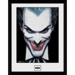 COLLECTOR PRINT BATMAN - JOKER SMILE 30X40