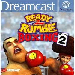 READY 2 RUMBLE BOXING ROUND 2 COMPLET SUR DREAMCAST