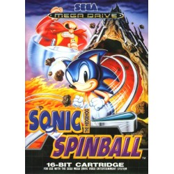 SONIC SPINBALL COMPLET SUR MEGA DRIVE