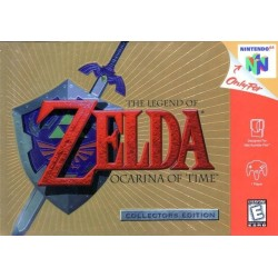 THE LEGEND OF ZELDA OCARINA OF TIME COLLECTOR EDITION US NINTENDO 64