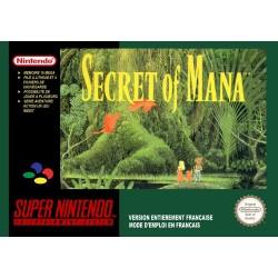 SECRET OF MANA + GUIDE SUR SUPER NINTENDO