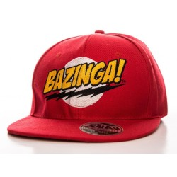 CASQUETTE THE BIG BANG THEORY BAZINGA!