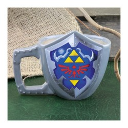 MUG 3D THE LEGEND OF ZELDA BOUCLIER