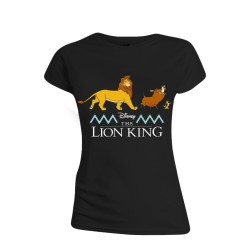 T-SHIRT (M) FEMME LE ROI LION LOGO AND CHARACTERS