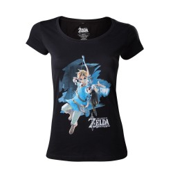 T-SHIRT (L) FEMME ZELDA BREATH OF THE WILD LINK WITH BOW