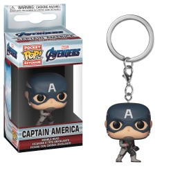 PORTE-CLÉS POCKET POP! AVENGERS ENDGAME - CAPTAIN AMERICA
