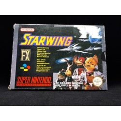 STARWING COMPLET OCCASION SNES PAL VERSION