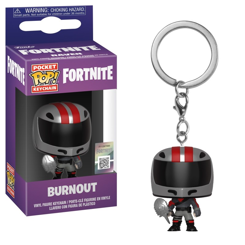 PORTE-CLÉS POCKET POP! FORTNITE BURNOUT