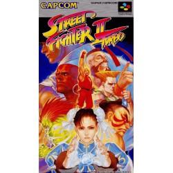 STREET FIGHTER 2 TURBO JAP COMPLET ETAT CORRECT