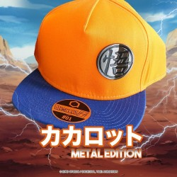 CASQUETTE DRAGON BALL METAL EDITION GOKU