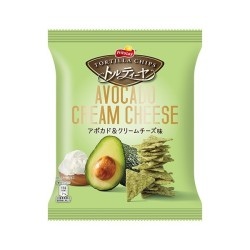 TORTILLA CHIPS AVOCADO CREAM CHEESE