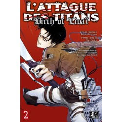 ATTAQUE DES TITANS BIRTH OF LIVAI TOME 2