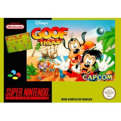 GOOF TROOP OCCASION SNES LOOSE