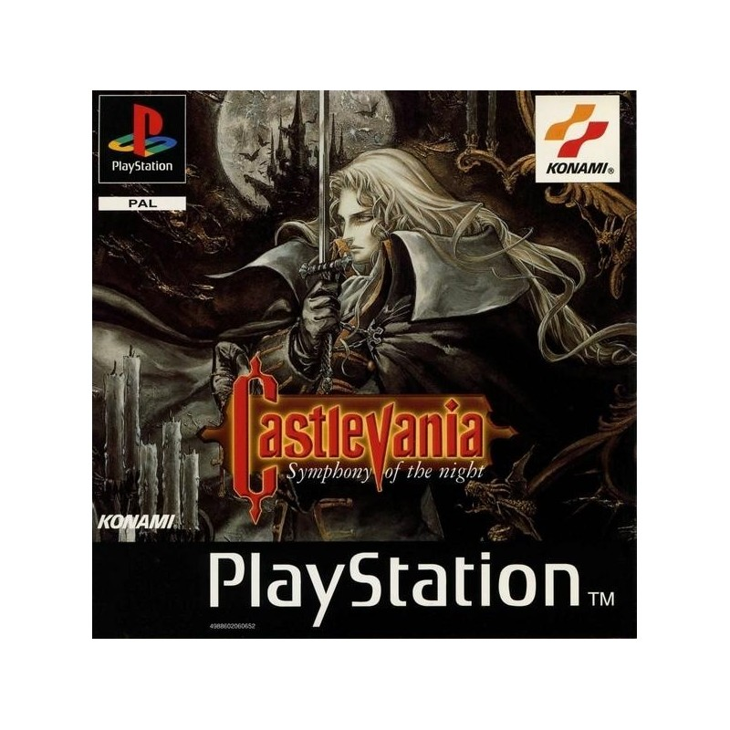 CASTLEVANIA SYMPHONY OF THE NIGHT COMPLET
