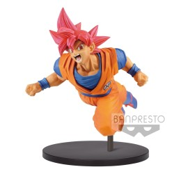 FIGURINE SON GOKU SUPER SAIYAN GOD VOL. 9