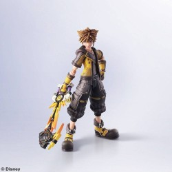 FIGURINE KINGDOM HEARTS 3 BRING ARTS SORA GUARDIAN FORM VERSION 16 CM